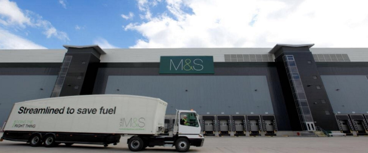 M&S lorry
